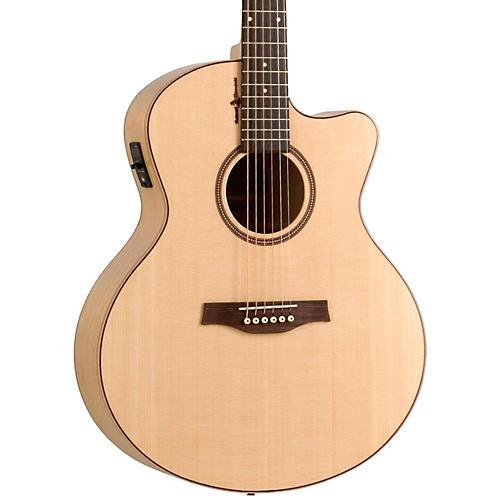 Seagull Amber Trail CW Mini Jumbo SG Acoustic-Electric Guitar