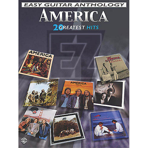 Alfred America - Easy Guitar Anthology (20 Greatest Hits) Easy Guitar Series Softcover Performed by America-thumbnail