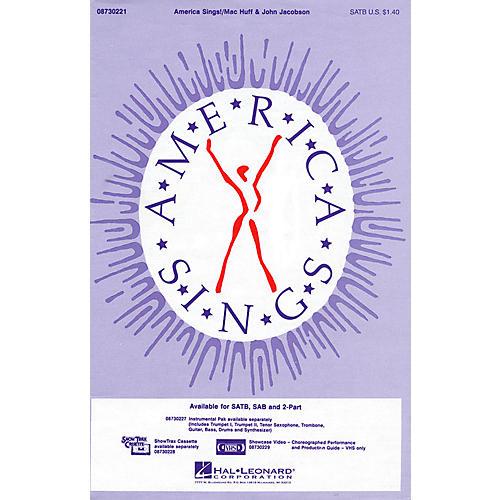 Hal Leonard America Sings! SATB composed by John Jacobson-thumbnail