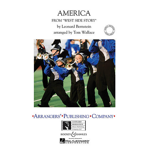 Arrangers America (from West Side Story) Marching Band Level 4 Arranged by Tom Wallace-thumbnail