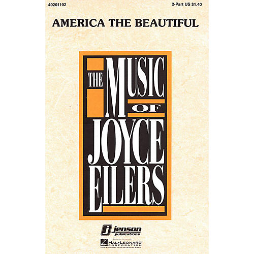Hal Leonard America the Beautiful 2-Part arranged by Joyce Eilers-thumbnail