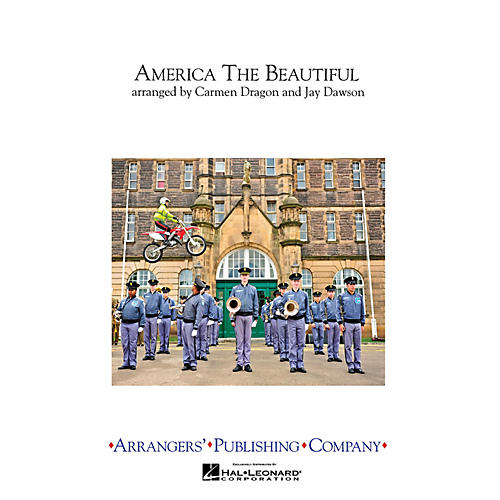 Arrangers America the Beautiful Marching Band Level 3 Arranged by Carmen Dragon-thumbnail