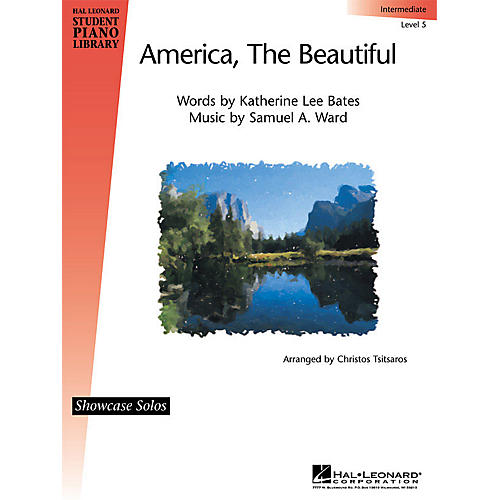 Hal Leonard America, the Beautiful Piano Library Series (Level Inter)-thumbnail