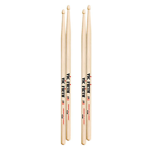 Vic Firth American Classic Drumsticks 2 Pair