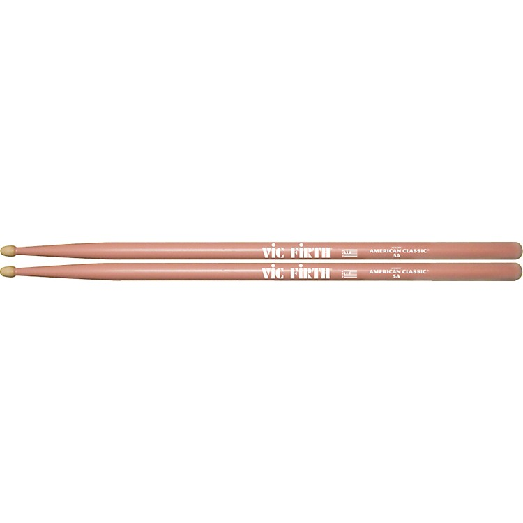 Vic Firth American Classic Drumsticks, Pink 5A