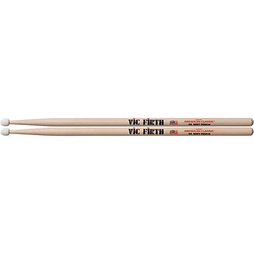 Vic Firth American Classic Drumsticks with Soft Touch Felt Tip 5A