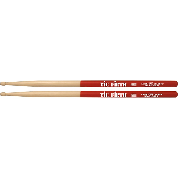 Vic Firth American Classic Extreme Drumsticks with Vic Grip 5A Wood