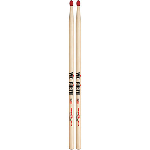 Vic Firth American Classic Hickory Drumsticks Classic Metal Nylon