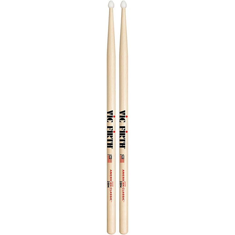 Vic FirthAmerican Classic Hickory DrumsticksNylon2B