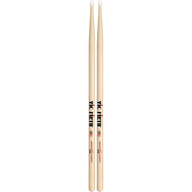 Vic Firth American Classic Hickory Drumsticks Nylon 7A