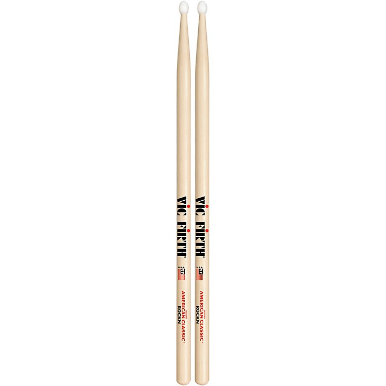 Vic Firth American Classic Hickory Drumsticks Nylon Rock