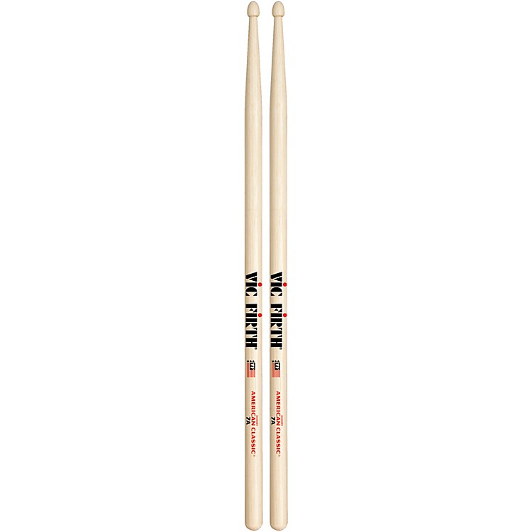 Vic Firth American Classic Hickory Drumsticks Wood 7A