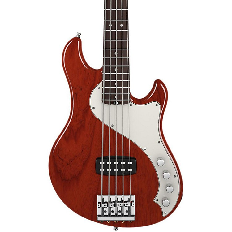 Fender American Deluxe Dimension Bass V 5-String Electric Bass Cayenne Rosewood Fingerboard
