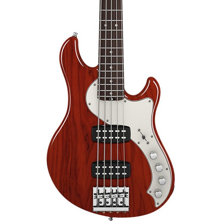 Fender American Deluxe Dimension Bass V 5-String HH Electric Bass Cayenne Rosewood Fingerboard
