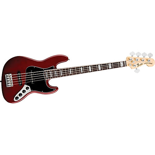 Fender American Deluxe Jazz Bass V 5-String Electric Bass-thumbnail