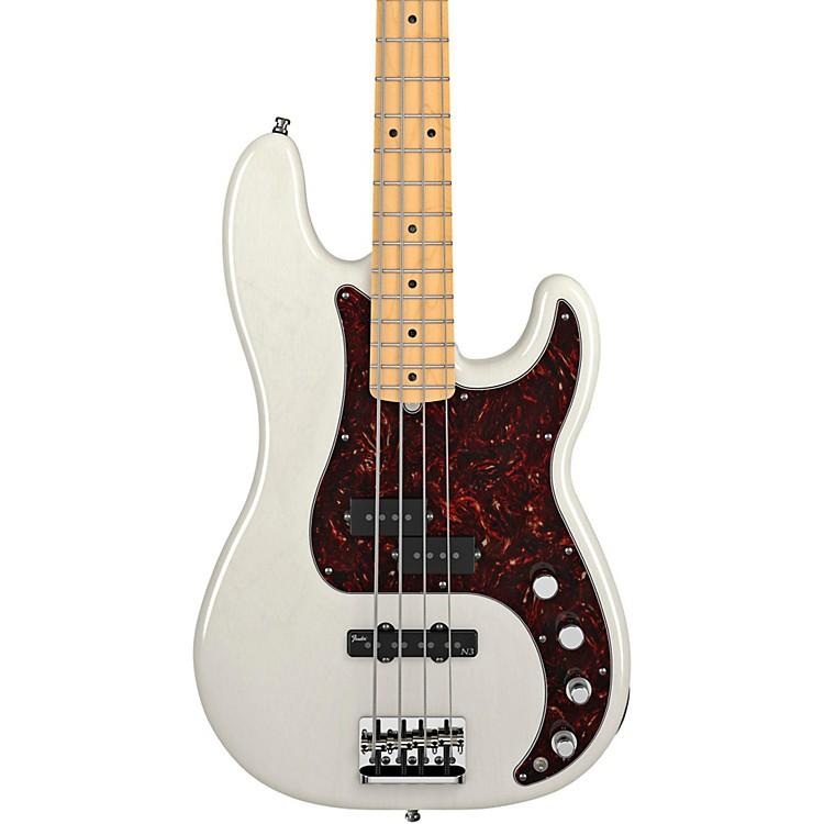 FenderAmerican Deluxe Precision BassWhite BlondeMaple Fretboard