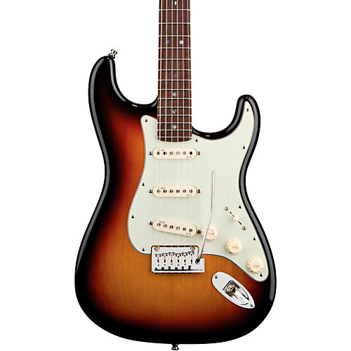 Fender American Deluxe Stratocaster Electric Guitar 3-Color Sunburst Rosewood