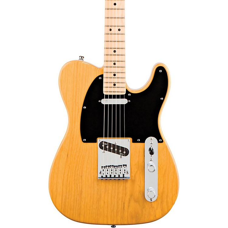 FenderAmerican Deluxe Telecaster Ash Electric GuitarButterscotch Blonde