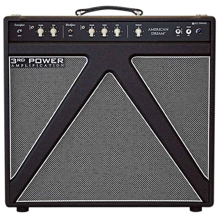 3rd Power Amps American Dream 30W 1x12 Tube Guitar Combo Amp Black