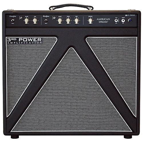 3rd Power Amps American Dream 30W 1x12 Tube Guitar Combo Amp with Alnico Gold Speaker