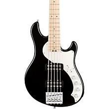American Elite Dimension Bass V HH, Maple, Electric Bass Guitar Black