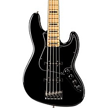 American Elite Jazz Bass V Maple Fingerboard Black