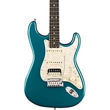 American Elite Stratocaster HSS Shawbucker Ebony Fingerboard Electric Guitar Ocean Turquoise