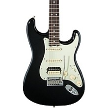 American Elite Stratocaster HSS Shawbucker Rosewood Fingerboard Electric Guitar Mystic Black