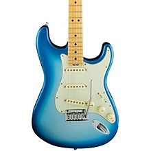 American Elite Stratocaster Maple Fingerboard Electric Guitar Sky Burst Metallic