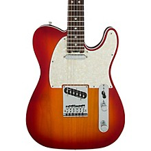 Fender American Elite Telecaster Rosewood Fingerboard Electric Guitar Aged Cherry Burst