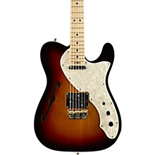 American Elite Telecaster Thinline Maple Fingerboard Electric Guitar 3-Color Sunburst