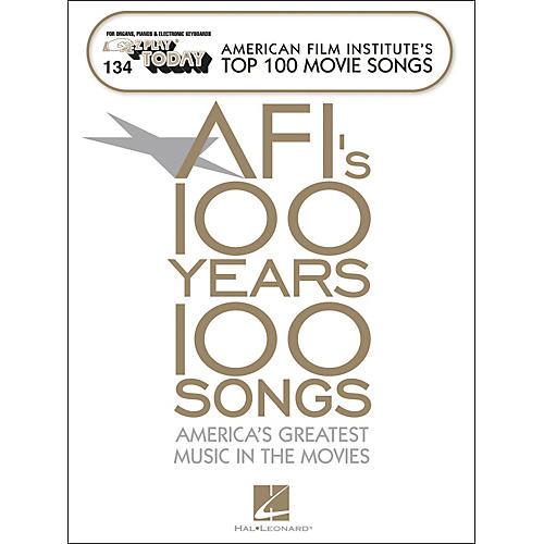 Hal Leonard American Film Institute's Top 100 Movie Songs E-Z Play 134-thumbnail