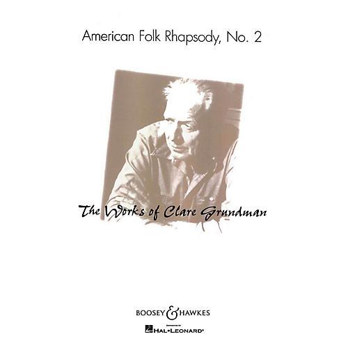 Boosey and Hawkes American Folk Rhapsody No. 2 (American Folk Rhapsody No. 2) Concert Band Level 3-4 by Clare Grundman