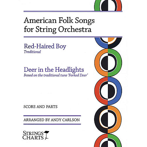 String Letter Publishing American Folk Songs for String Orchestra String Letter Publishing Series Slick Wrap by Andy Carlson-thumbnail