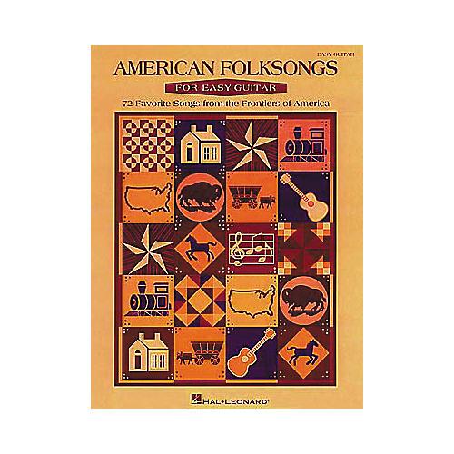 Hal Leonard American Folksongs for Easy Guitar Book-thumbnail