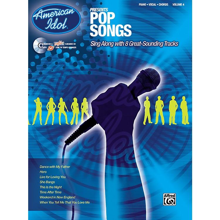 AlfredAmerican Idol Presents Pop Songs Book and CD