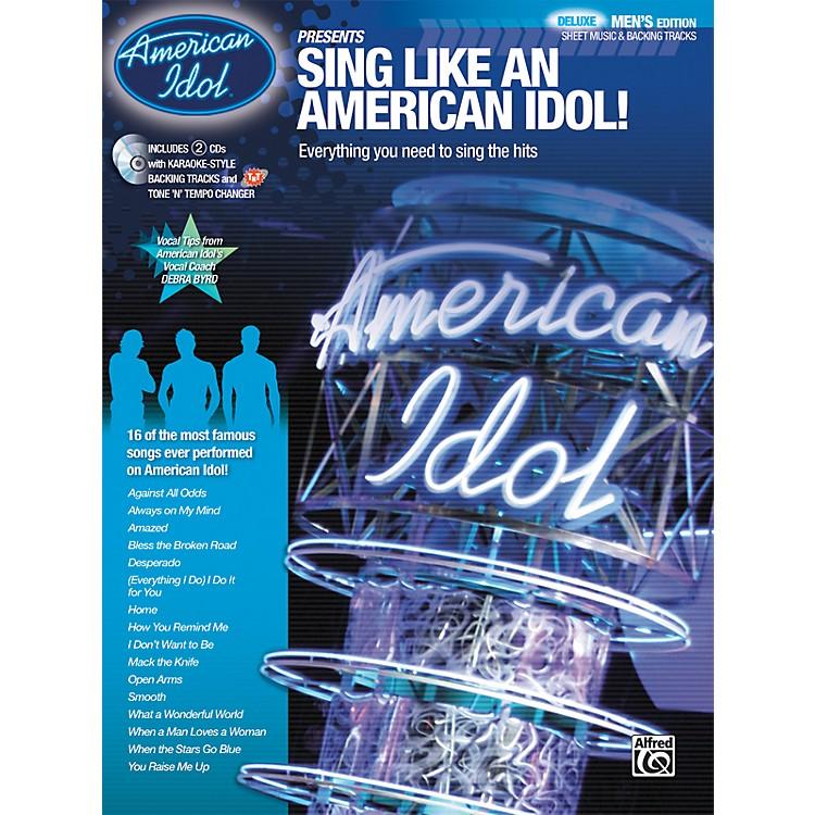 AlfredAmerican Idol Presents: Sing Like an American Idol! DELUXE Men's Edition (Book/2 CD)