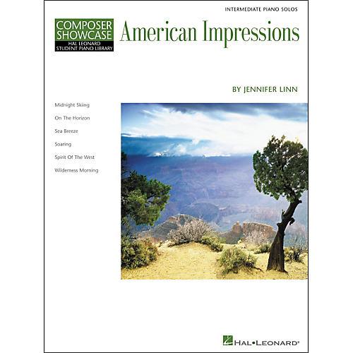 Hal Leonard American Impressions - Composer Showcase Series Intermediate Hal Leonard Student Piano Library by Jennifer Linn-thumbnail
