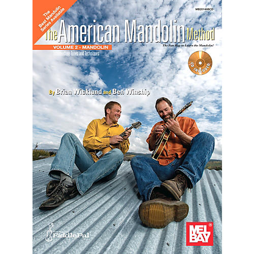 Mel Bay American Mandolin Method Volume 2 CD
