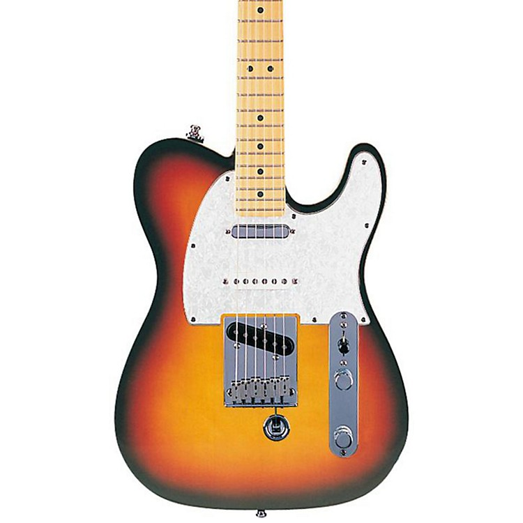 Fender American Nashville B-Bender Tele Electric Guitar 3-Color Sunburst Maple Fretboard