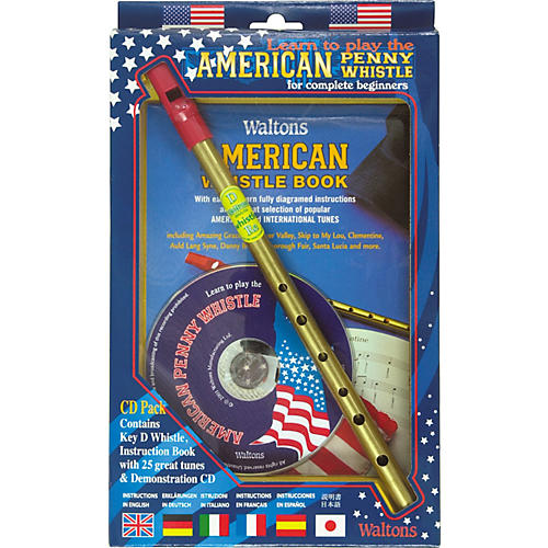 Waltons American Penny Whistle CD Pack-thumbnail