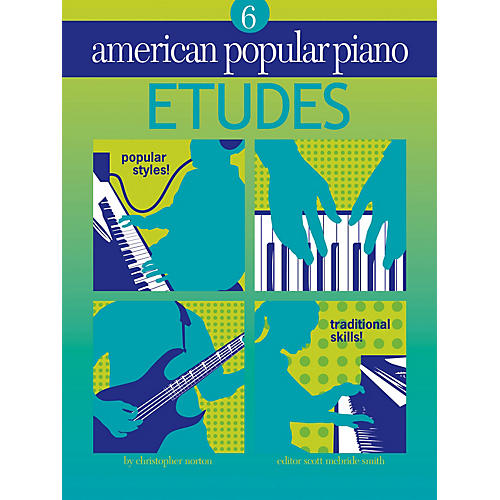 Novus Via American Popular Piano - Etudes Novus Via Music Group Series Softcover Written by Christopher Norton-thumbnail