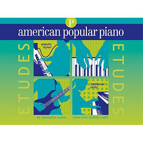 Novus Via American Popular Piano - Etudes Novus Via Music Group Series Softcover Written by Christopher Norton-thumbnail