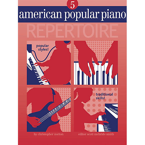 Novus Via American Popular Piano - Repertoire Novus Via Music Group Series Softcover with CD by Christopher Norton-thumbnail