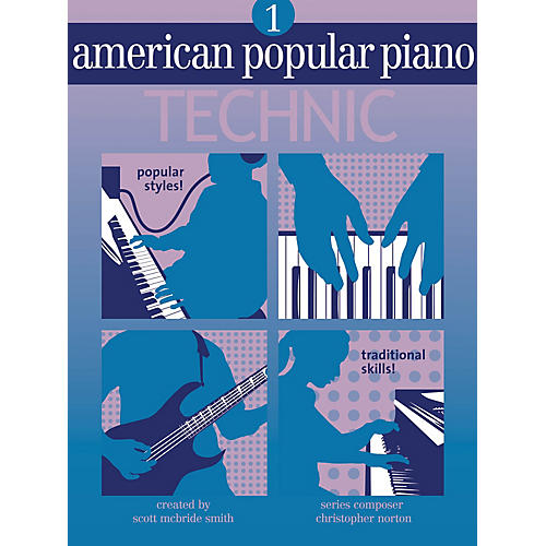 Novus Via American Popular Piano - Technic (Level One - Technic) Novus Via Music Group Series by Christopher Norton-thumbnail