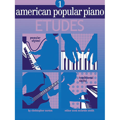 NV Group American Popular Piano Etudes 1 Book/CD