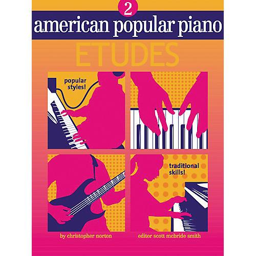 NV Group American Popular Piano Etudes 2 Book/CD-thumbnail