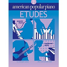 Novus Via American Popular Piano (Etudes Level 7) Novus Via Music Group Series Softcover by Christopher Norton