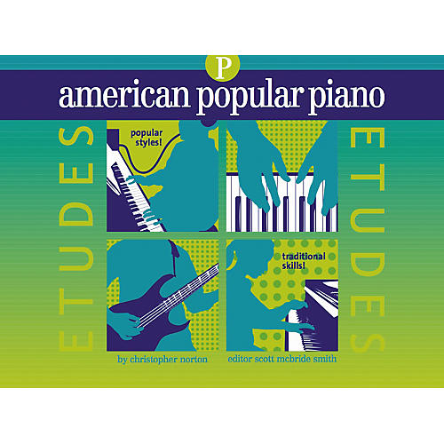 NV Group American Popular Piano Etudes Prep Book/CD-thumbnail