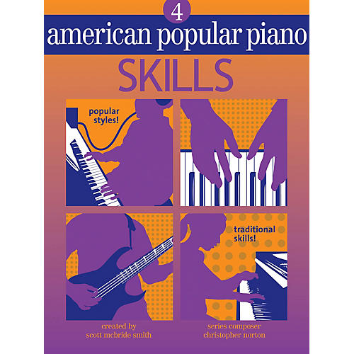 Novus Via American Popular Piano (Level Four - Skills) Novus Via Music Group Series Written by Christopher Norton-thumbnail